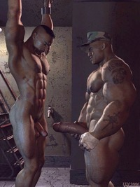 3d gay anime porn gay army hunks take part bondage action