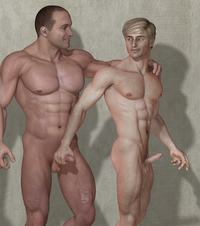 3d gay porn gallery gay porn toons are eager start screwing around