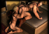 3d gay porn media original wonderful gay beefcakes smoking sausage toons