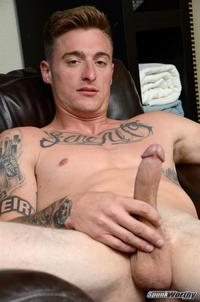 8 Picture gay porn spunkworthy dane tatted marine masturbating inch cock amateur gay porn straighttatted jerking his