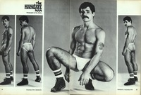 80s gay porn joe porcelli colt studio group gay porn star noel kemp friends pornstache beard facial hair muscular body thick cock hairy