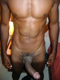 Adonis' big black cock black cock nice cocks