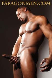 Adonis' big black cock category paragon men page