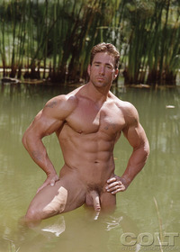 Billy Herrington Porn beefy bodybuilder billy herrington strips naked strokes his cock recharged shots colt studio group pic classic