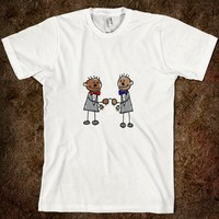 African gay sex render product african gay couple american apparel unisex fitted tee white same marriage