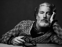 aiden shaw gay porn aiden shaw giampaolo sgura former gay porn star fashion model silverest fox who ever foxed