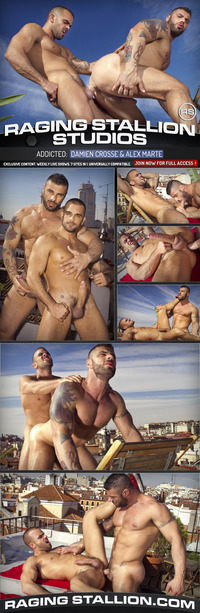 alex marte gay porn muscle studs damien crosse alex marte spend entire afternoon fucking each porn stars attachment