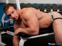 all gay porn site behold hunter mannings incredible tree trunk thighs