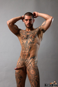all gay porn tattoo facial hair logan mccree tattoos all over