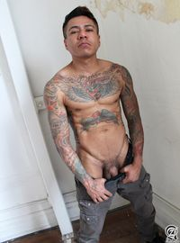 amateur daddy gay porn alternadudes maxx sanchez tatted mexican daddy cock amateur gay porn latino shot load his mouth