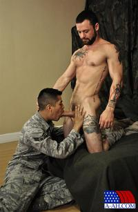 American gays porn all american heroes sergeant miles airman class paolo swapping blow jobs cum amateur gay porn category latino