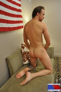 army gay porn Pic all american heroes army specialist clark jerking his hairy cock amateur gay porn masturbating curved