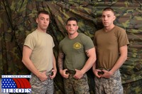 army gay porn all american heroes sergeant slate triple fucking cocks army guys amateur gay porn real privates fuck their muscle cum his mouth