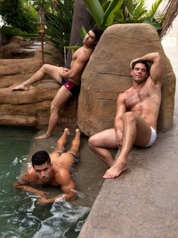 atlas gay porn diego sans dante ferraro derek atlas spend summer poolside