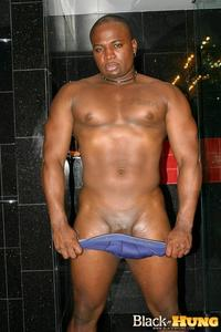b lack gay porn black hung total package muscle thug jerking his thick cock amateur gay porn category