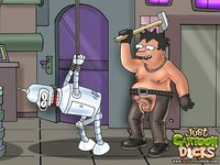 bdsm gay porn Pic cartoon dicks futurama bdsm