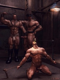 bdsm gay porn Pic gay art male gets tortured great bondage