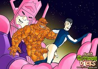 bdsm gay porn Pics cartoon dicks fantastic four