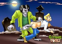 bdsm gay porn cartoon dicks scooby doo