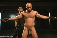 bdsm gay porn bound gods leo forte bdsm gay submits