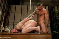 bdsm gay sex Pic boundgods bdsm gay