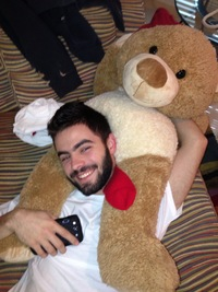 bear gay porn Pic photo shock gay porn couple christopher daniels teddy bear split after three weeks together