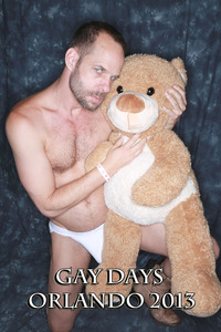 bear gay porn Pic gaydays gay porn power couple alert teddy bear michael brandon