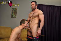 Brock Landon Porn smooth muscle stud eryk eastman sucks off fucks hairy hunk brock landon dirty tony pic