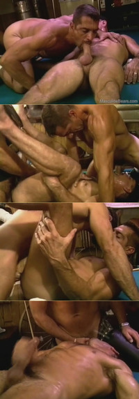 bear men gay porn muscle bear threesome category gay