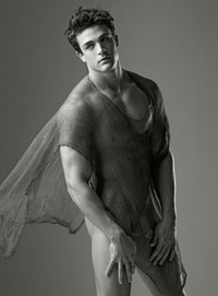 beautiful naked male models philip fusco naked nude penis frontal cute coy