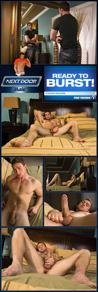 best male gay porn next door male connor maguire porn gay hunk jerking bed