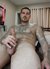 bi Latin men gallery cfc pics rough tattoed latin gangster jerking his hungry cock