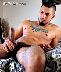bi Latino gay men latin men punk thug