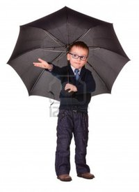 big black boy irynarasko boy black clothes under umbrella check raining isolated white photo
