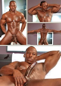 big black man gay porn nextdoorebony derek jackson muscled black man solo