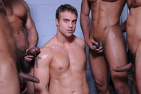big black men cock rocco reed jizz orgy fantasy gangbang gay porn had dream about four flopping black dicks banging his straight ass