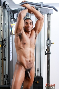 big black men nude naked