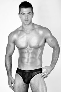 big black muscle men black briefs pants boys
