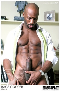 big black muscle men black gay naked hunk race cooper men play ripped muscle bodybuilder strips strokes his hard cock photo