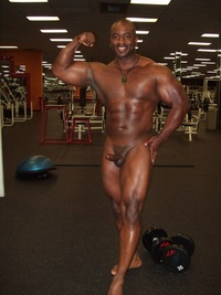 big black muscle men