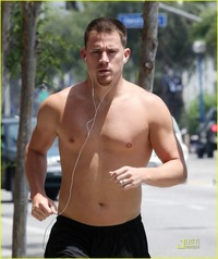 Channing Tatum Porn albums bastianstanwyck channing tatum shirtless running joe