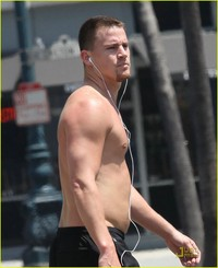 Channing Tatum Porn media channing shirtless tatum running
