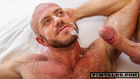big cocks in gay porn timtales tim matt stevens hairy muscle daddy getting fucked uncut cock amateur gay porn takes