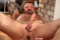 big daddy porn gay butch dixon marc angelo muscle bear masturbating uncut cock amateur gay porn category