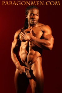 big dick black men black bodybuilder muscle hunk haas aka hass strips naked strokes his hard cock greg weiner paragon men pic jacks off dick