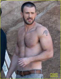 Chris Evans Porn chris evans shirtless details magazine shoot