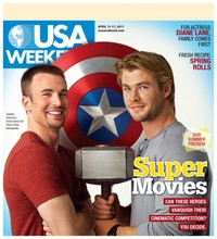 Chris Evans Porn usa weekly chris hemsworth evans