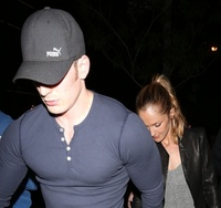Chris Evans Porn minka chris blonde apr kelly evans holding hands identically their way out bootsy bellows