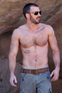 Chris Evans Porn chris evans shirtless hairy chest scruffy details magazine good morning heres