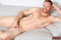 big dick men gallery red head muscle hunk seth fornea strips naked strokes his hard cock colt men from studio group pic page